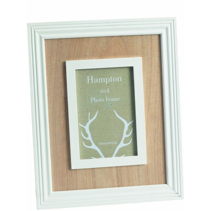 Transomnia Hampton 6 X 4 Wood Photo Frame