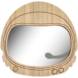 Transomnia Space Helmet Wooden Children's Mirror