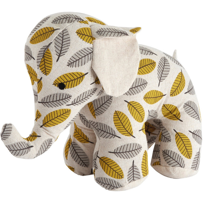 Transomnia Retro Elephant Patterned Doorstop