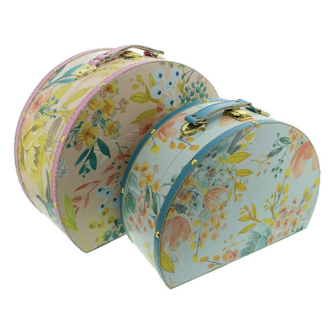Amore Set 2 Round Storage Boxes