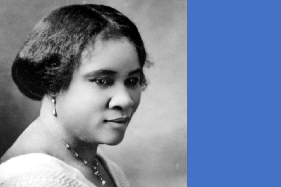 Who was Madam CJ Walker?