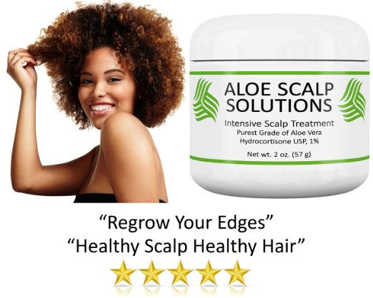 Aloe Scalp Solutions - 4 bottles