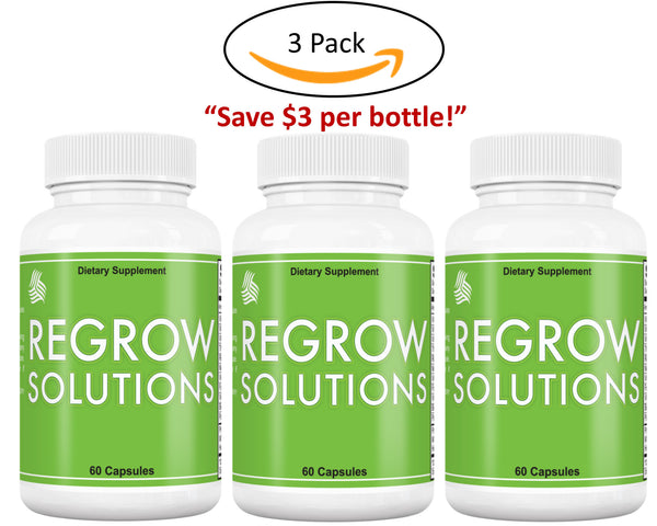 Regrow Solutions 3 bottles