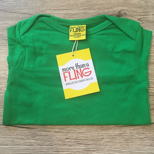 Green Long Sleeve Bodysuit (NB-24 months)