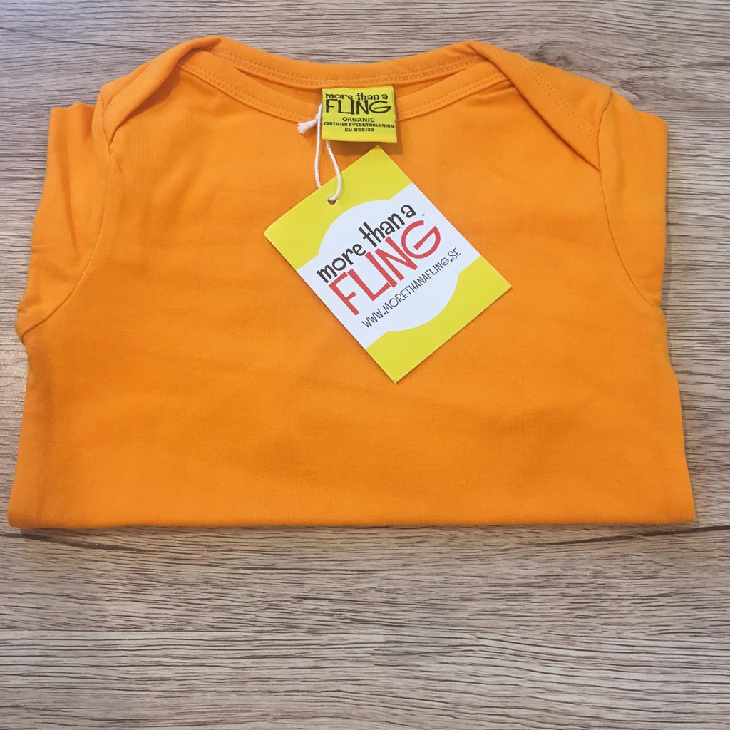 Orange Long Sleeve Bodysuit (NB-18 months)