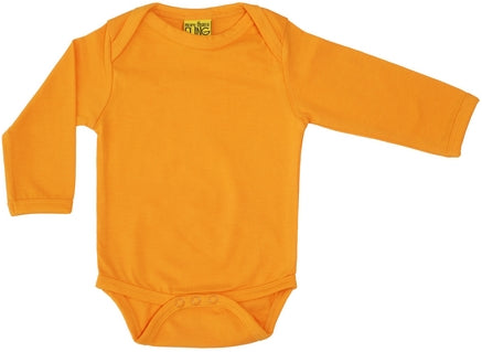 Orange Long Sleeve Bodysuit (NB-24 months)