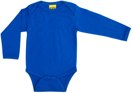 Blue Long Sleeve Bodysuit (NB-24 months)