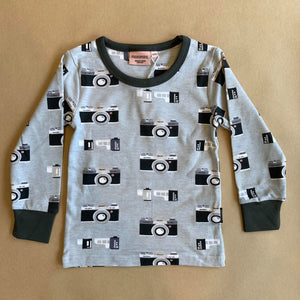 Analog Long Sleeve Top (2 years- ADULT)