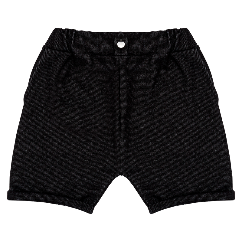 Denim Shorts - Black (18 months - 9 years)