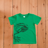 Tuatara T-shirt (2 & 10 years)