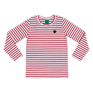 Red Stripes Long-Sleeve T-Shirt (18 months - 11 years)
