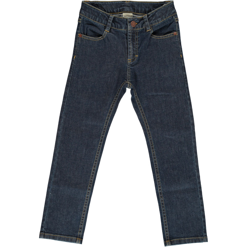 Medium Dark Wash Denim Pants (3-10 years)
