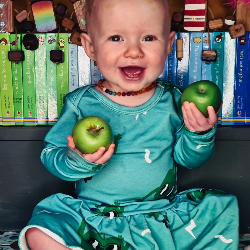 Juicy Apple Body Dress (4 months - 3 years)