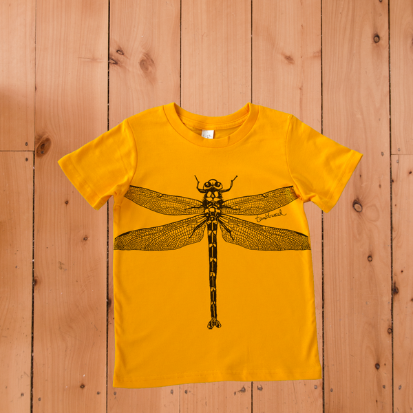 Kapokapowai Giant Dragonfly T-shirt (2, 6 & 12 years)