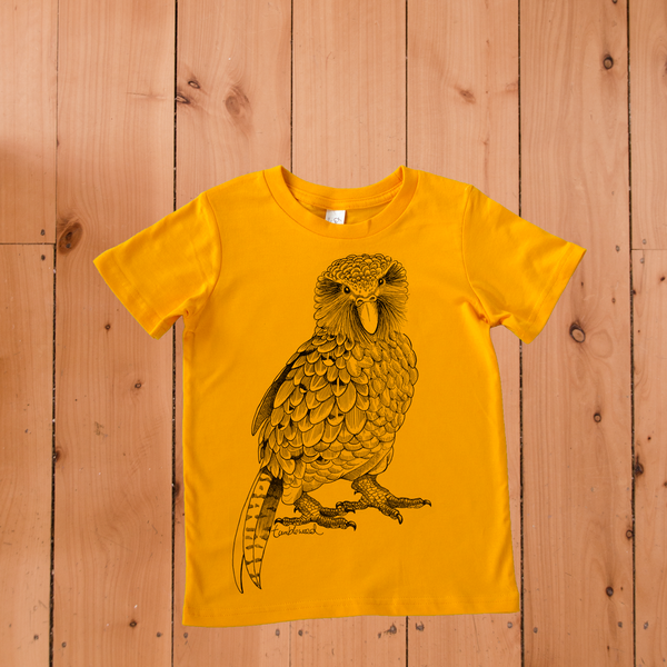 Kakapo T-shirt (2 - 12 years)