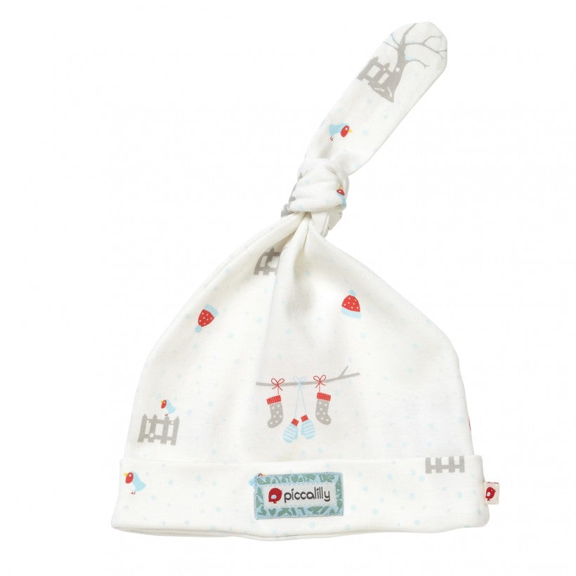Robin Baby Knot Hat (NB-12 months)