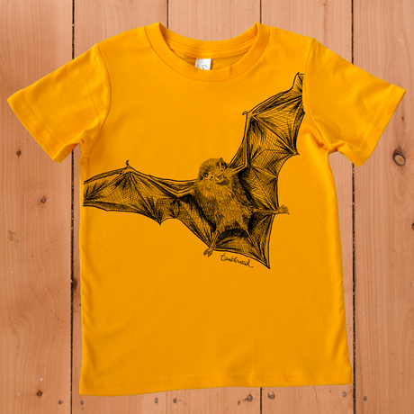 Pekapeka /Bat T-shirt (2 years only)