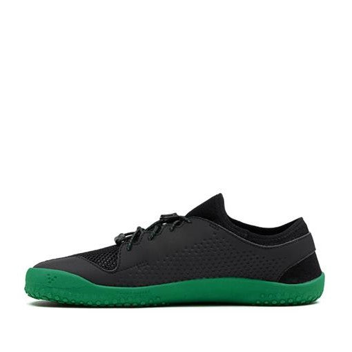 Primus Junior Black/Green Barefoot Shoe (size 30-38)