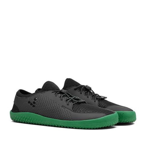 Primus Junior Black/Green Barefoot Shoe (size 30 & 32 only)