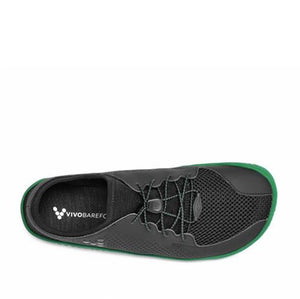Primus Junior Black/Green Barefoot Shoe (size 30)