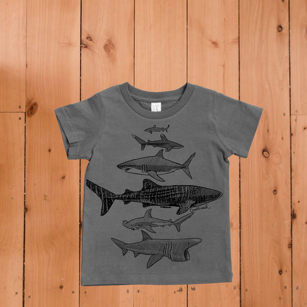 Sharks T-shirt (2 & 8 years)