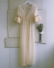vintage sheer robe / peignoir.