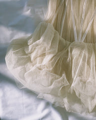 vintage tulle corset bodice.