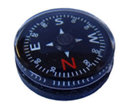 Liquid Filled Button Compass