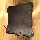Stoned Oil  Leather  Compass Armguard