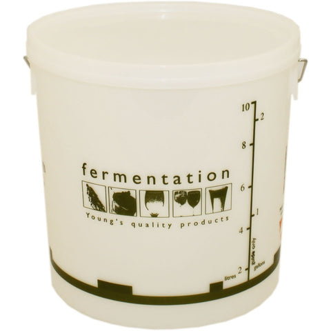 10 Litre Fermentation Bucket and Lid - Brewers Barn - 1