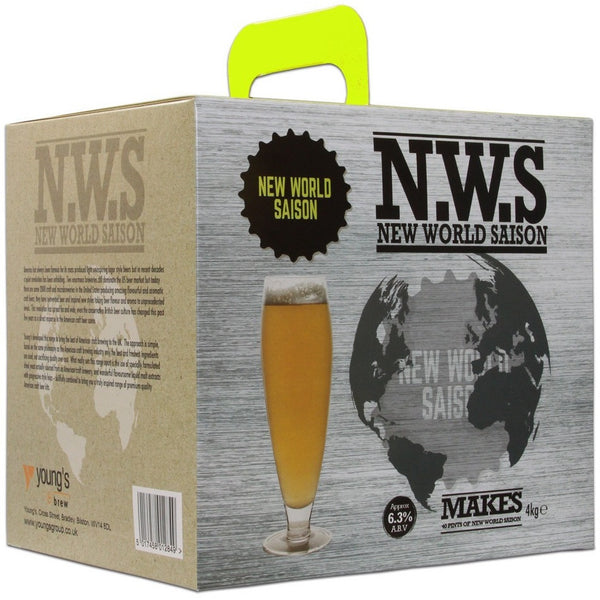 Youngs New World Saison 40 Pint Home Brewing Kit - Brewers Barn