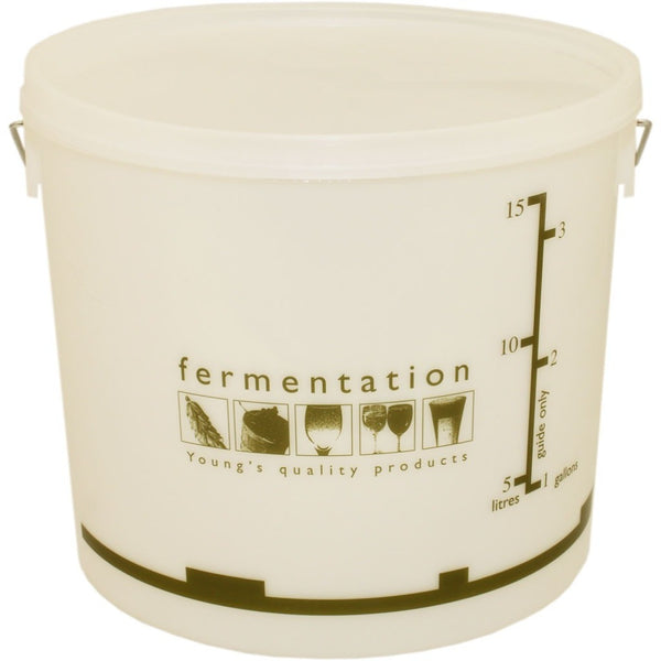 15 Litre Fermentation Bucket and lid - Brewers Barn