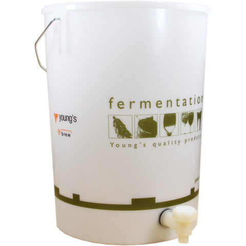 25 Litre Fermentation Bucket and Lid with Tap - Brewers Barn