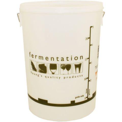 25 Litre Fermentation Bucket and Lid - Brewers Barn