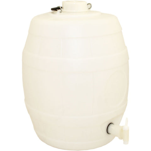 5 Gallon Basic White Barrel - Brewers Barn - 1