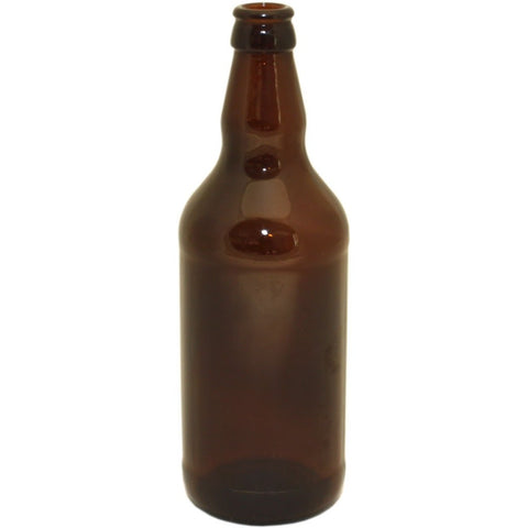 Beer Bottles Brown Glass 500ml (15) - Brewers Barn - 1