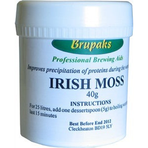 Irish Moss 40grm -  Brewers Barn
