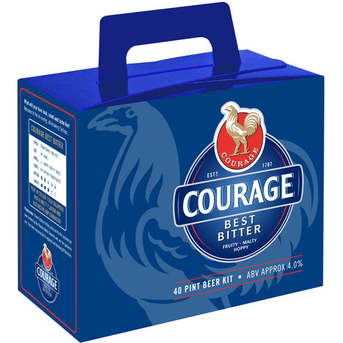 Courage Best Bitter 40 Pint Home Brew Beer Kit - Brewers Barn