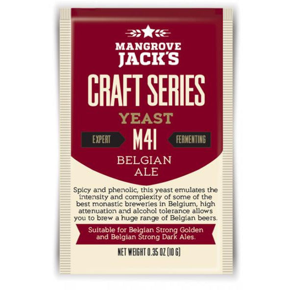 Mangrove Jacks M27 Belgian Ale Craft Yeast - Brewers Barn