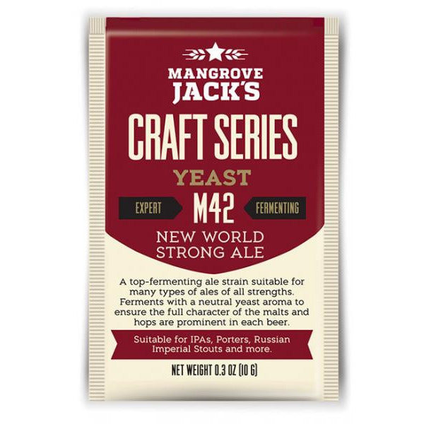 Mangrove Jacks M42 New World Strong Ale Craft Yeast - Brewers Barn
