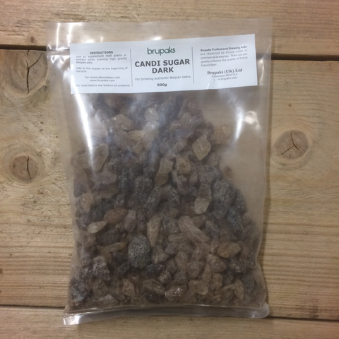 Dark Candi Sugar Crystals 500g