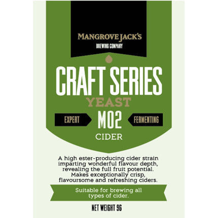 Mangrove Jacks Cider Craft Yeast - Brewers Barn