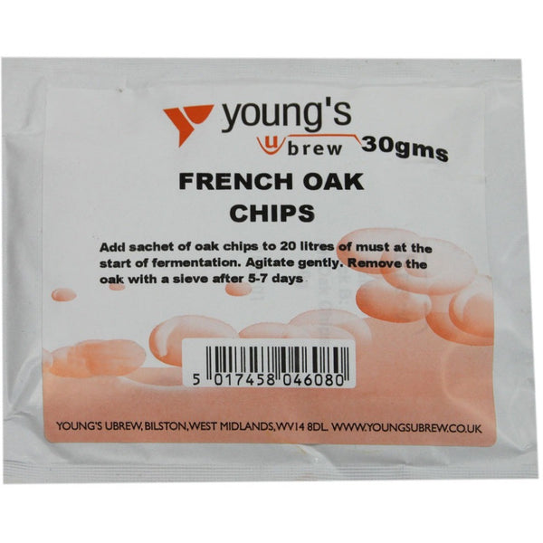 French Oak Chips - Brewers Barn - 1