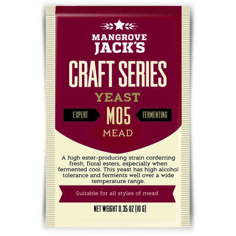 Mangrove Jacks Mead Yeast M05 - Brewers Barn - 1