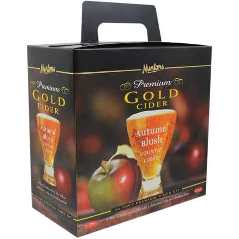 Muntons Premium Gold Autumn Blush Country Cider 40pt Home Brewing Kit - Brewers Barn
