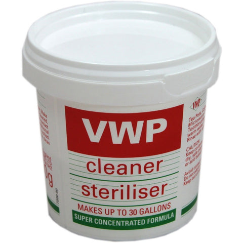 VWP Cleaner and Steriliser (400grm) - Brewers Barn