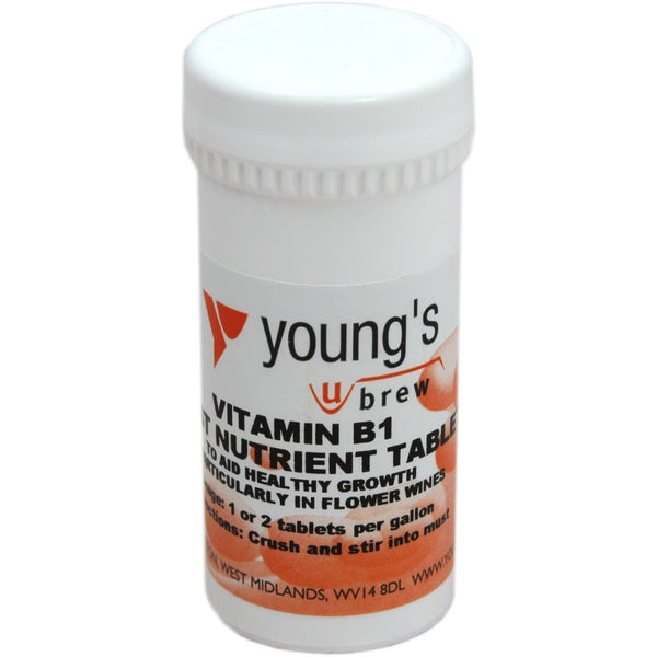 Vitamin B1 Yeast Nutrient Tablets (100's) - Brewers Barn