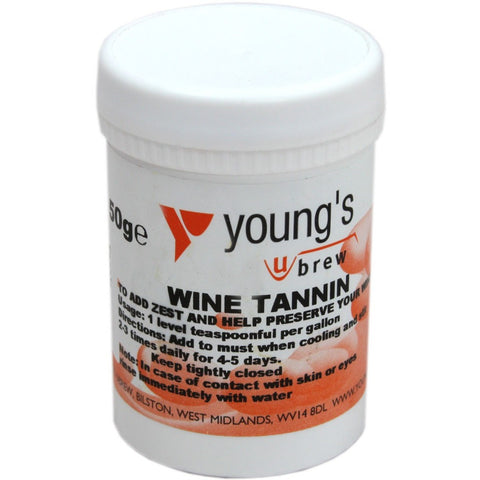 Wine Tannin 50grm - Brewers Barn