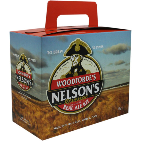 Woodfordes Nelson's Revenge 36pt Home Brew Beer Kit - Brewers Barn