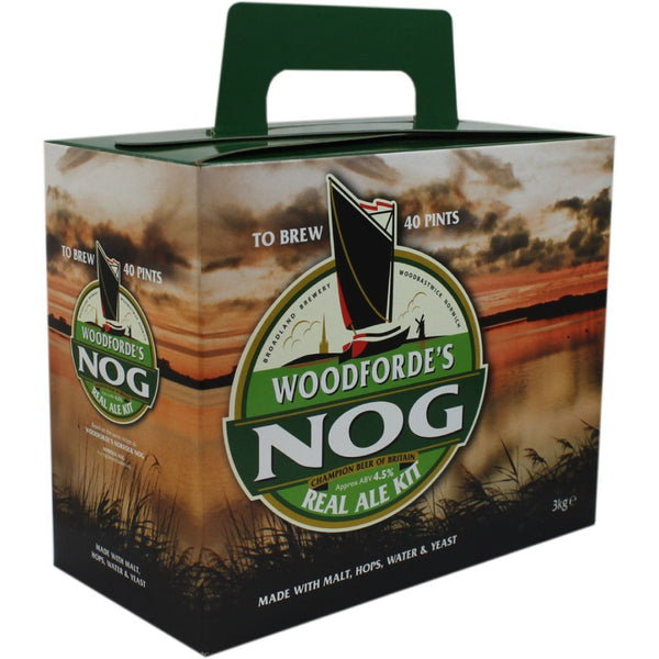 Woodfordes Nog 'Porter Style' 40 Pint Home Brew Beer Kit - Brewers Barn